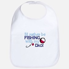 Fishing with Dad Bib