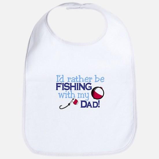 Fishing with Dad Bib