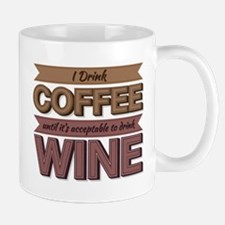 Time To Drink Wine Mug Mugs