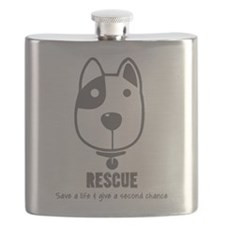 Dog Rescue Flask