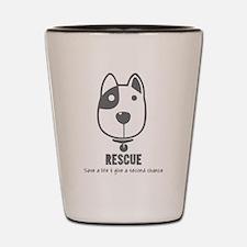 Dog Rescue Shot Glass
