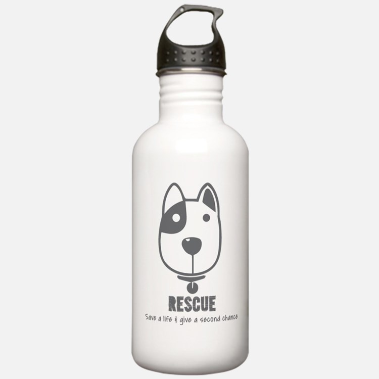 Dog Rescue Water Bottle