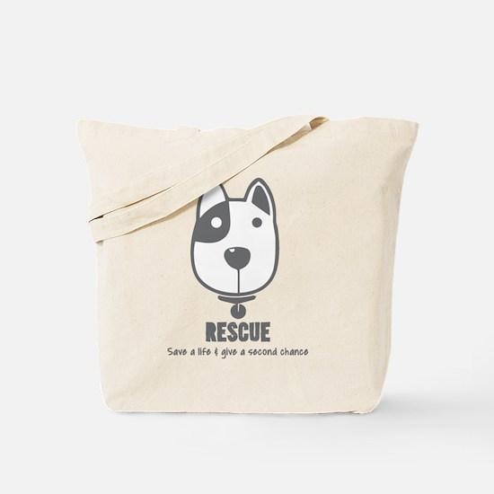 Dog Rescue Tote Bag