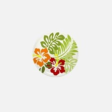 Hibiscus Dreams Mini Button