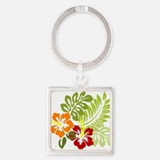 Hibiscus Dreams Keychains