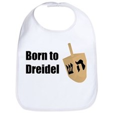Born to Dreidel Bib