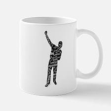 AZONTO black & white SCRIPT Mugs