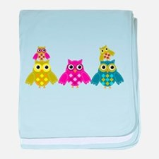 OwlAlways Love you baby blanket