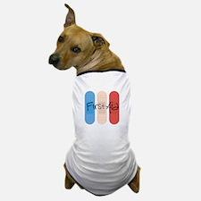 Ouchies Adhesive Bandages Dog T-Shirt