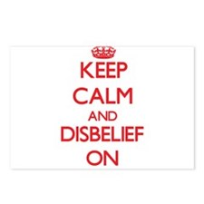 Disbelief Postcards (Package of 8)