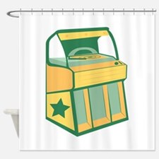 Jukebox Shower Curtain