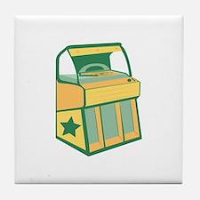 Jukebox Tile Coaster
