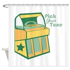 Pick Your Tune Shower Curtain