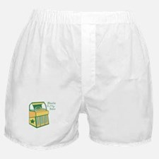 Music To My Ears Boxer Shorts