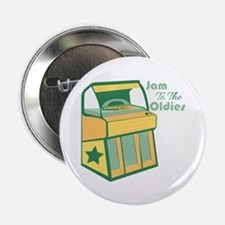 "Jam To The Oldies 2.25"" Button (10 pack)"