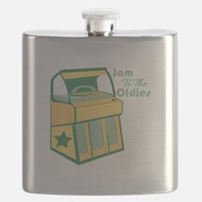 Jam To The Oldies Flask