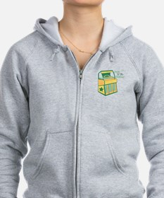 Jam To The Oldies Zip Hoodie