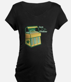 Jam To The Oldies Maternity T-Shirt