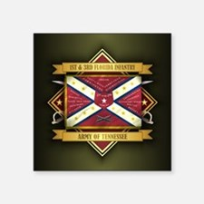 1st & 3rd Florida Infantry Sticker