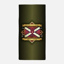 1st & 3rd Florida Infantry Beach Towel