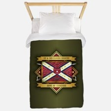 1st & 3rd Florida Infantry Twin Duvet