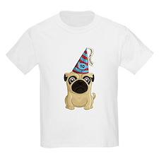 10th Birthday Pug T-Shirt