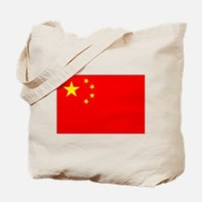 Chinese Flag Tote Bag