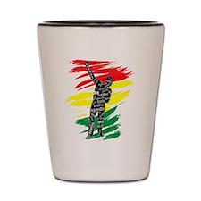 Azonto Movement - Ghana Pride Shot Glass