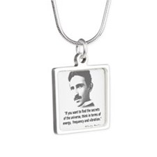 Quote By Nikola Tesla Necklaces