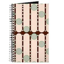 Dripping Dots green Journal