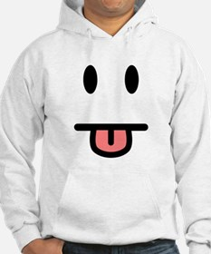Tongue Sticking Out Face Hoodie