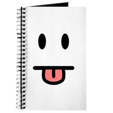 Tongue Sticking Out Face Journal