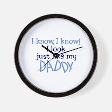 Look Like Daddy Wall Clock