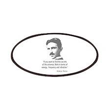 Quote By Nikola Tesla Patch