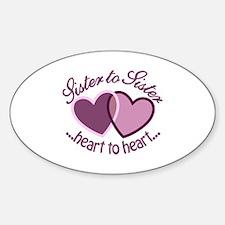 SisterTo Sister Bumper Stickers