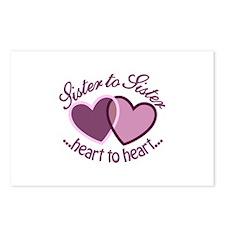 SisterTo Sister Postcards (Package of 8)