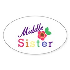 Middle Sister Decal