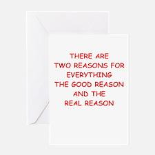 reasons Greeting Cards