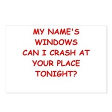 windows Postcards (Package of 8)
