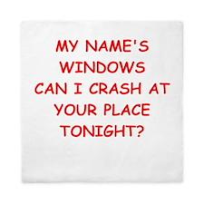 windows Queen Duvet