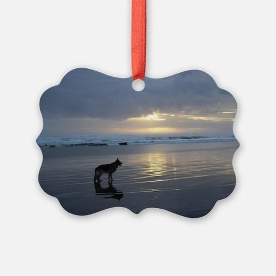 Lone Shepherd Ornament