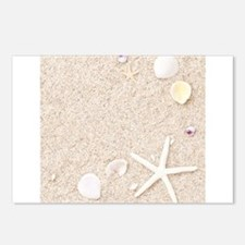 Beach Love Postcards (Package of 8)