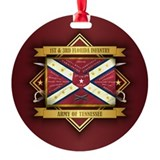 Civil war flag Ornaments