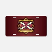 1st & 3rd Florida Infantry Aluminum License Plate