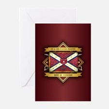 1st & 3rd Florida Infantry Greeting Cards