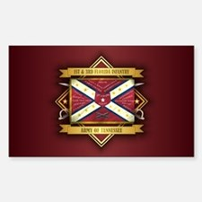 1st & 3rd Florida Infantry Decal