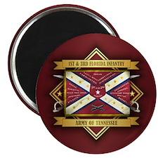 1st & 3rd Florida Infantry Magnets