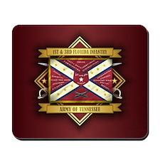 1st & 3rd Florida Infantry Mousepad