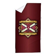 1st & 3rd Florida Infantry Beach Towel