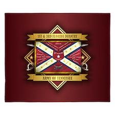 1st & 3rd Florida Infantry King Duvet